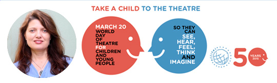 「ラッキーだから演劇体験が出来るのか」国際児童青少年演劇デー:イヴェット・ハーディ会長のメッセージ